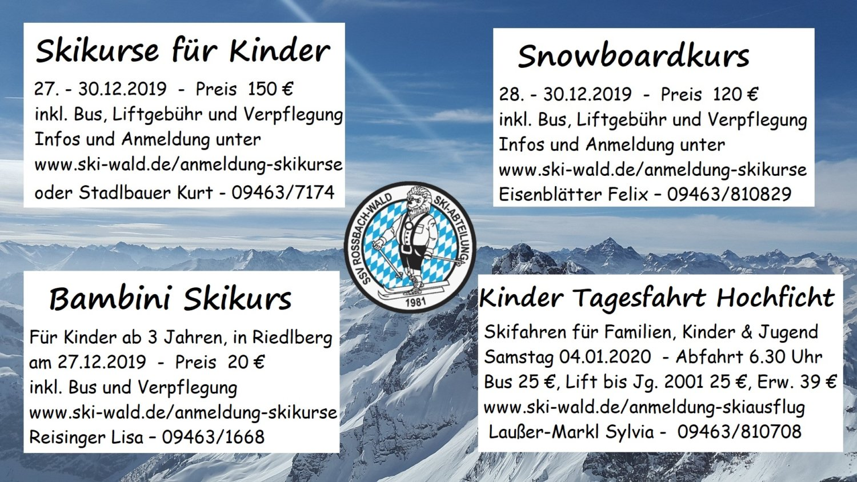 Kinder Skikurs 2019
